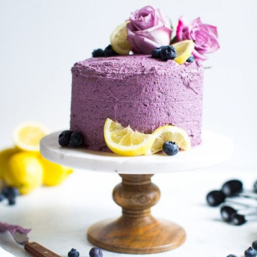 Mini Lemon Blueberry Layer Cake