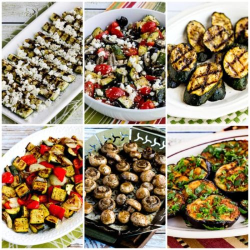 Low-Carb and Keto Grilled Vegetables