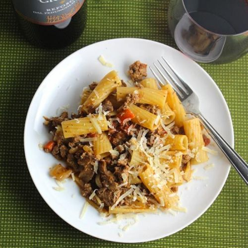 Turkey Bolognese with Porcini