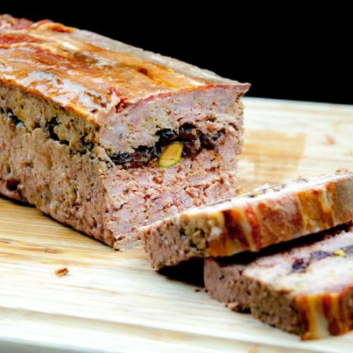 Pork, Duck & Cranberry Terrine