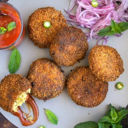 Fish Cutlets / Indian Fish Cakes
