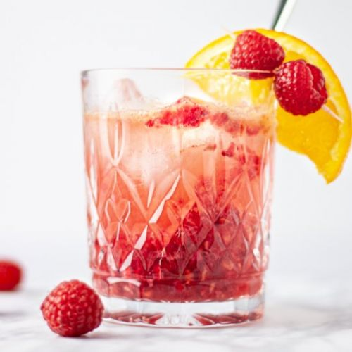 Bourbon Raspberry Cocktail