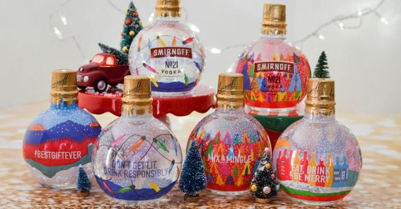 Smirnoff Made Vodka-Filled Ornaments So Your Christmas Tree Can Get Lit