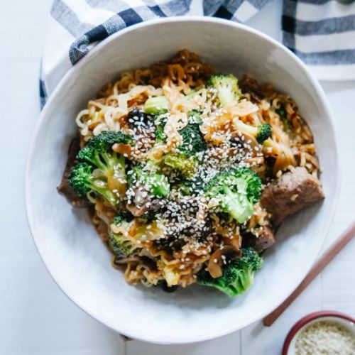 Takeout Style Beef + Broccoli