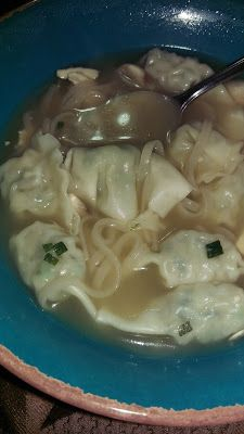 Quickie Weeknight Wonton Soup
