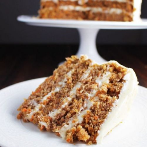 Carrot Cake w/ Brown Butter Icing