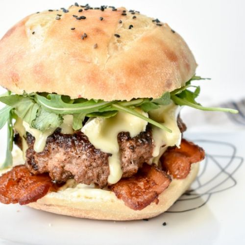 Truffle Brie Bacon Burger