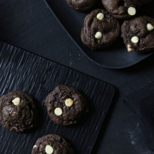 Triple Choc Cheesecake Cookies