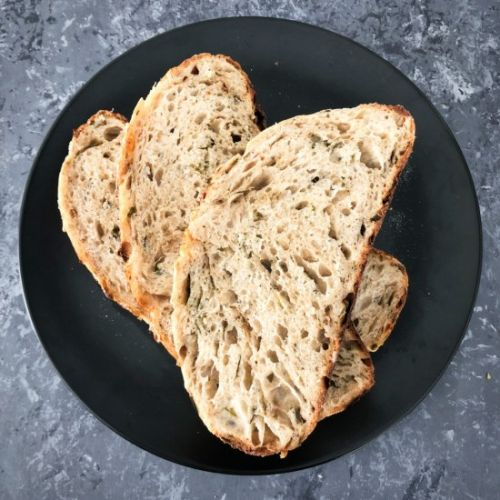 Sourdough spicy bread