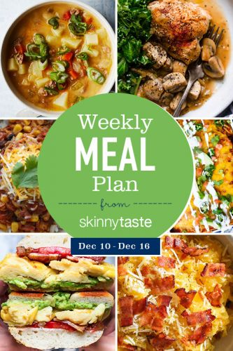 Simply Recipes 2018 Meal Plan: December Week 2