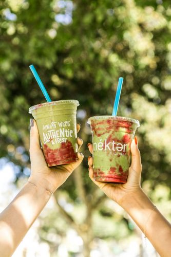Nékter Juice Bar's New Matcha Berry Zen-ergy Smoothie Is the Season's Most Delicious Antioxidant Antidote to Holiday Stress