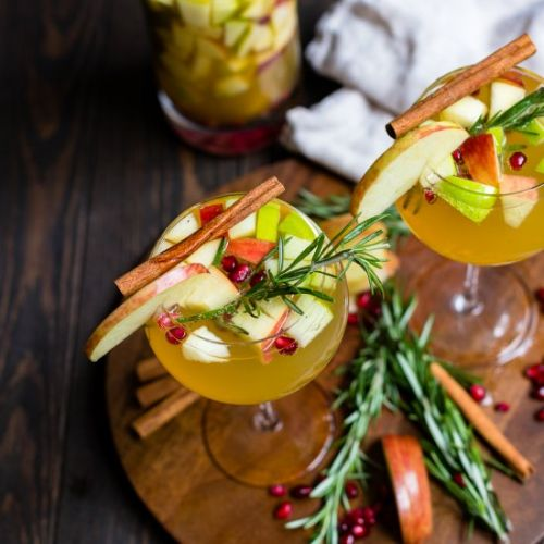 Autumn Harvest White Sangria
