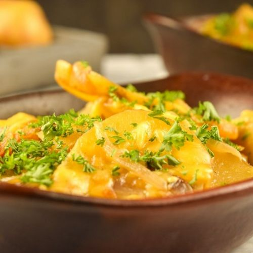Electric Skillet Scalloped Potatoes