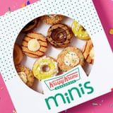 Krispy Kreme Is Releasing Mini Dessert Doughnuts, and Oh My, That Birthday Cake One