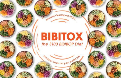 BIBIBOP offering an entire month of BIBIBOP bowls for just $100