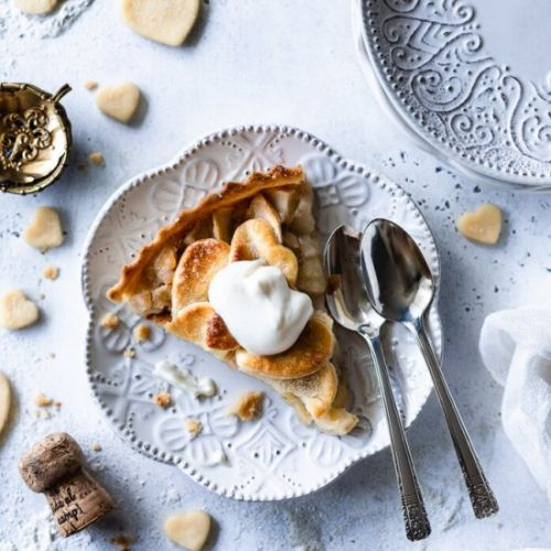 Sparkling Wine Green Apple Pie