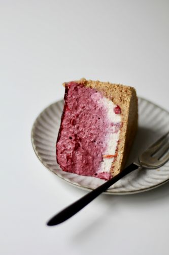 Cassis Mousse Cake