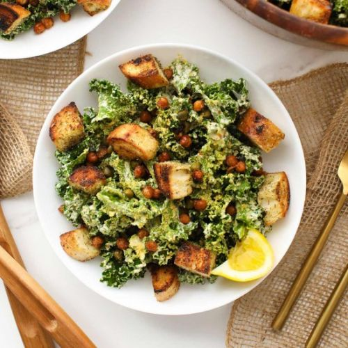 The Ultimate Kale Caesar Salad
