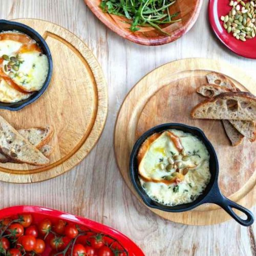 Baked scamorza