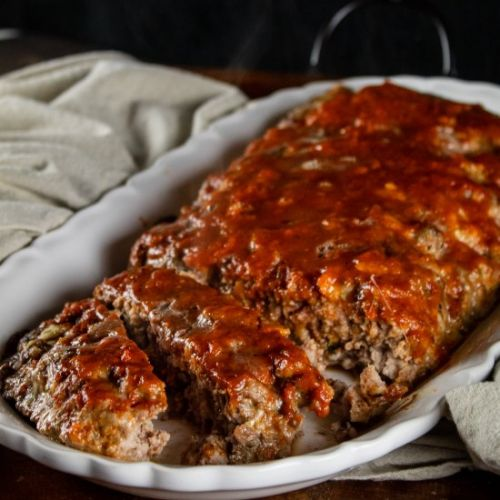 Italian Style Meatloaf with Marinar