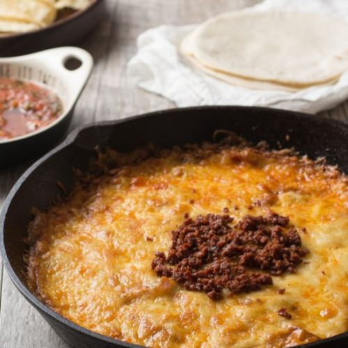 The Best Queso Fundido With Chorizo