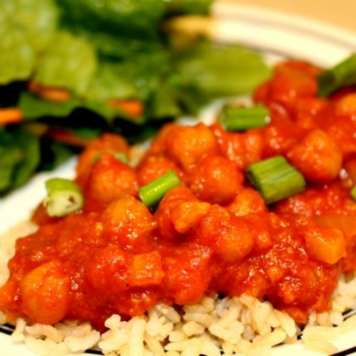 Creamy Curry Chickpeas