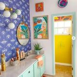35 Colorful Bathrooms That Will Instantly Boost Your Mood