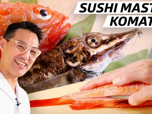 Why This Sushi Master Compares the Quality of His Fish to Diamonds