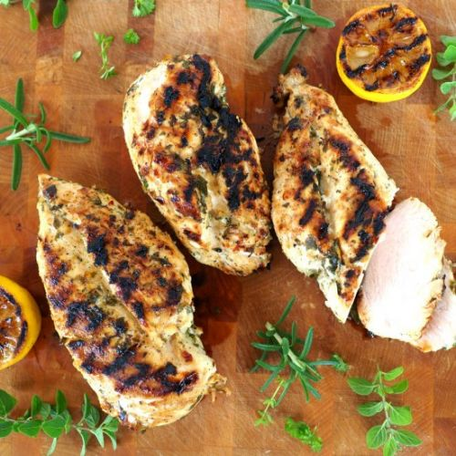 Lemon Herb Marinated Chicken
