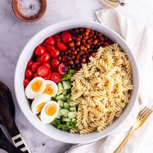 Cobb Salad with Pasta