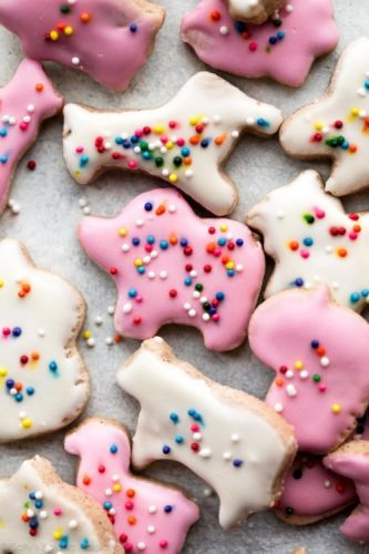 Mini Animal Cracker Cookies