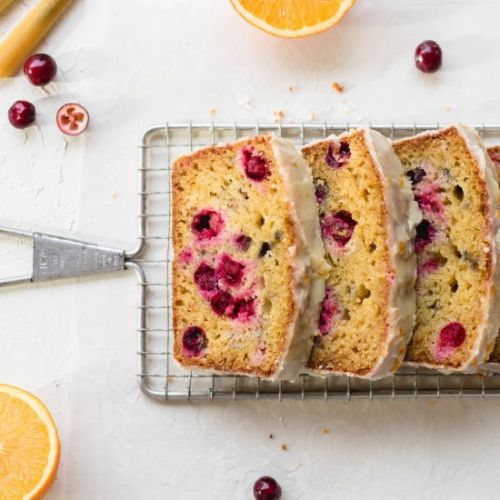 The easiest cranberry orange bread