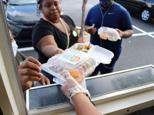 The Race to Feed Voters at the Polls