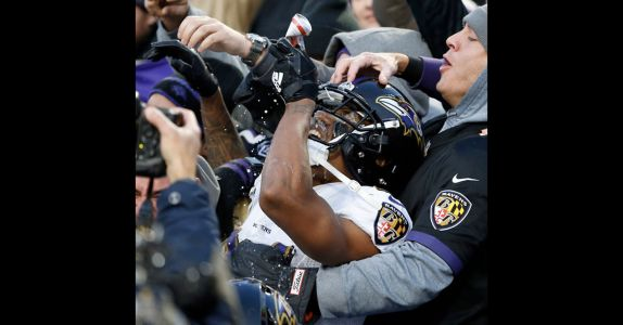 NFL Player Fined $14K for Shotgunning Beer With Fans in Stands