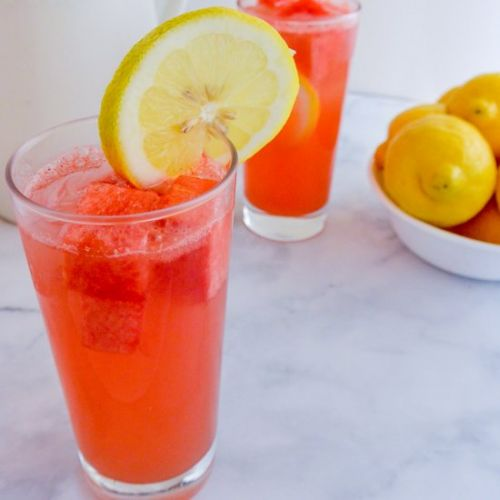 Sparkling Watermelon Lemonade