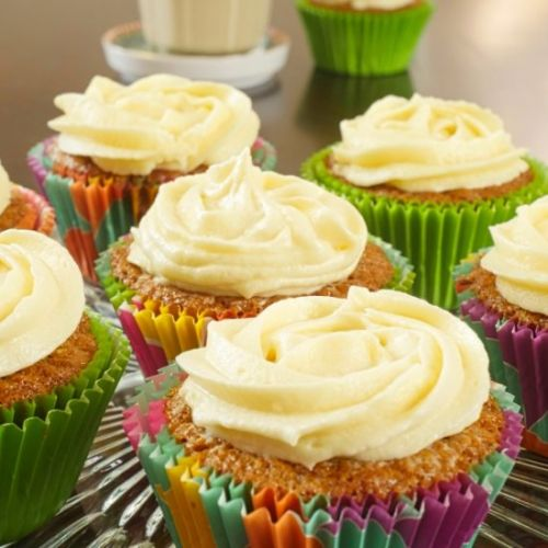Indianish Carrot Cupcakes