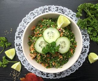 Tabbouleh/Tabouli Middle Eastern Salad