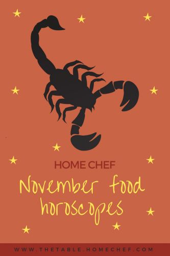 Your November Food Horoscope