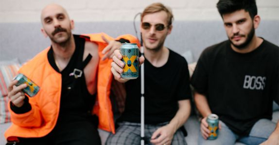 The X Ambassadors 'Only Have Really Nice Beer' on Their Tour Bus