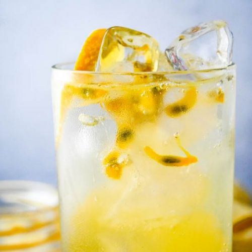 Passion Fruit Vodka Soda