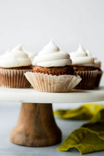 Coconut Carrot Cake Cupcakes