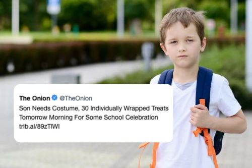 A Celebrity Chef Came Up with a Brilliant School Snack in Response to a Hilarious Tweet from The Onion