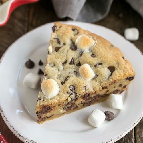 Gooey Chocolate Chip Pie