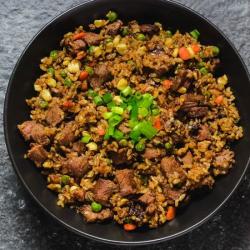 Quick & Easy Steak Fried Rice