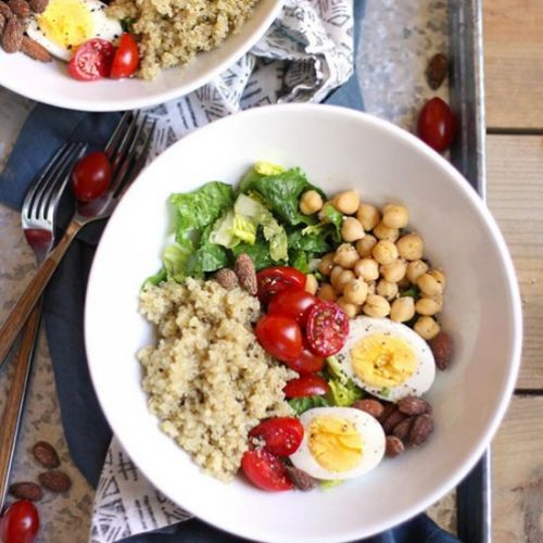 Protein Packed Quinoa Salad