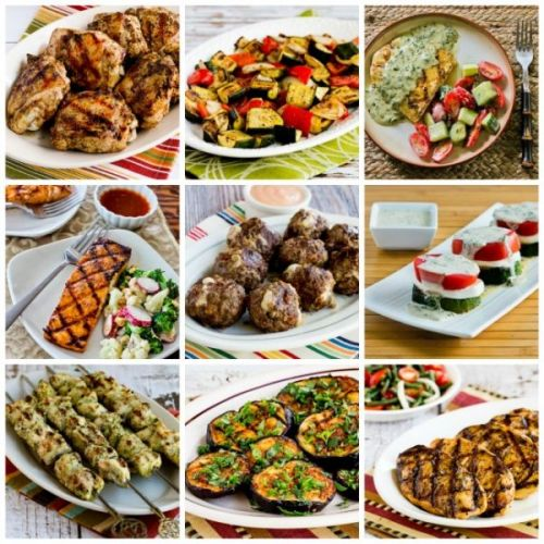 Kalyn's BEST Low-Carb Grilling Recipes for Chicken, Fish, Pork, Beef, and Vegetables