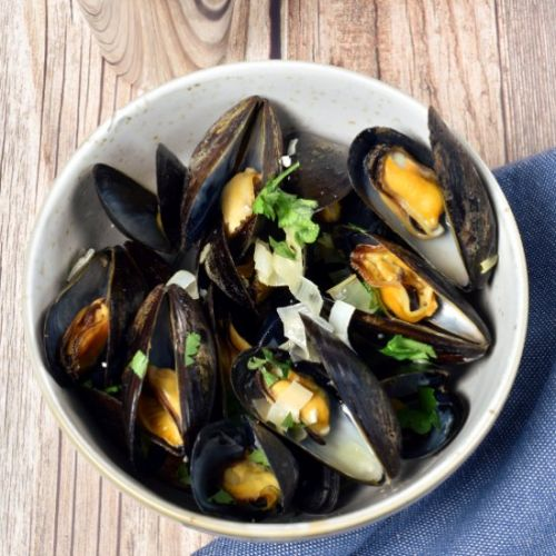 Moules Frites - Mussels with Fries