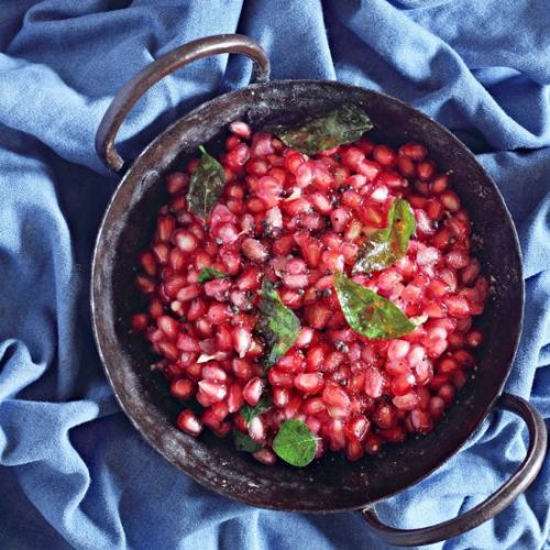 Indian Pomegranate Salad