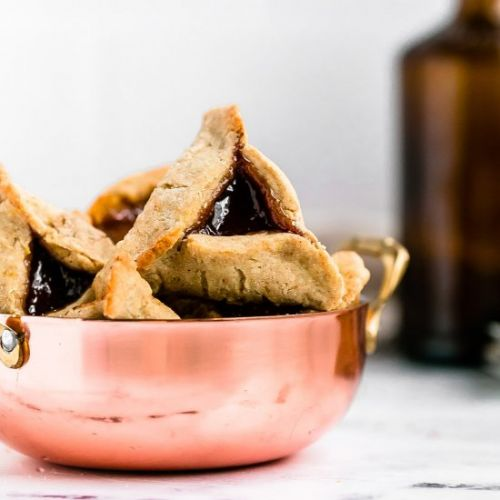 Spiced Bourbon Hamentashen