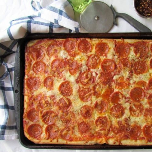 Western NY Sheet Pan Pizza